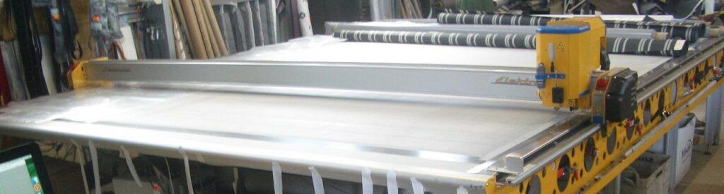 Lockwood Canvas Repairs - Cut table